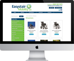 Easystair Mobility - an online shop selling mobility products